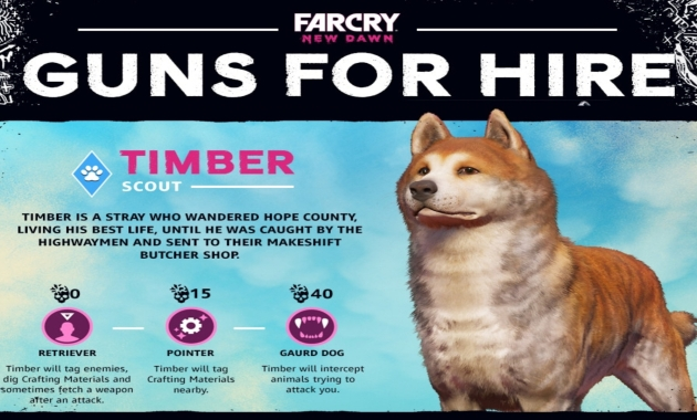 Far Cry New Dawn: Guns for Hire - Timber