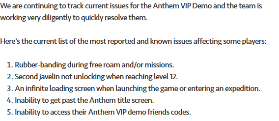 ANTHEM VIP Demo Day