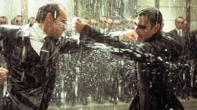 The Matrix Revolutions - Neo Vs Agent Smith
