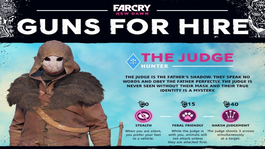 Far Cry New Dawn: Guns for Hire - The Judge