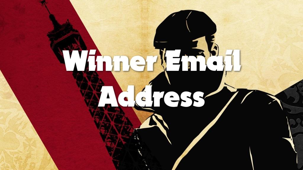 winner email address